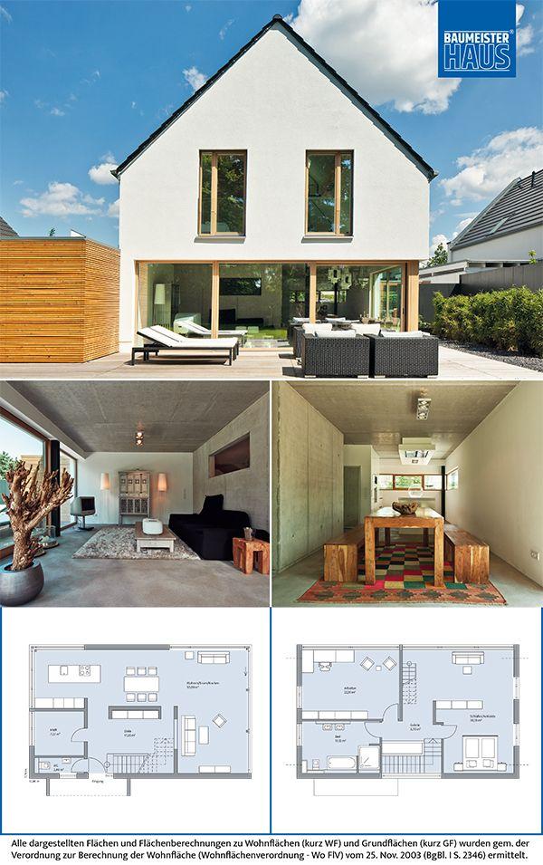 Haus Immel – Markantes Juwel. Schlichte Fassung. Der Baukörper des schlüsselfertigen Massivhauses reduziert sich aufs Wesentliche, wirkt dadurch p…