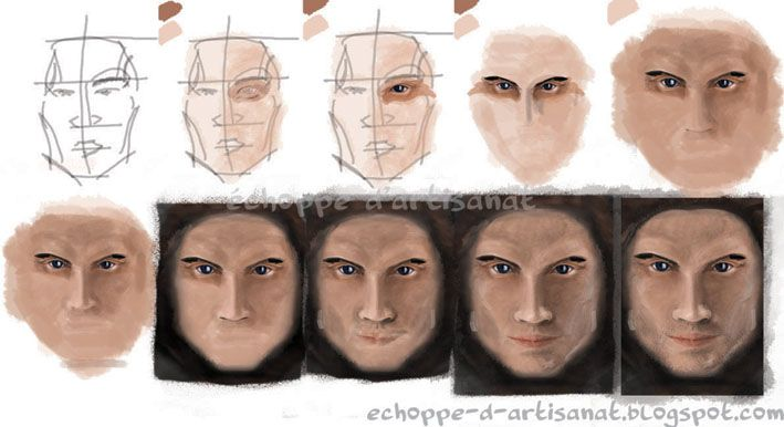 Male portres1 by echoppedartisanat.deviantart.com on @deviantART