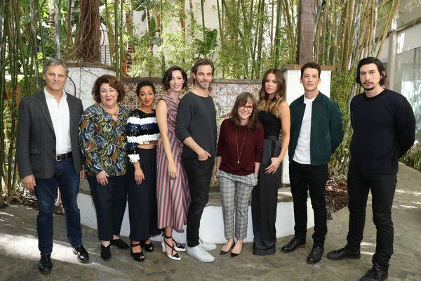 Adam Driver Photos Photos - (L-R) Actors Viggo Mortensen, Margo Martindale, Ruth Negga, Rebecca Hall, Chris Pine, Sally Field, Kate Beckinsale, Miles Teller and Adam Driver attend the Indie Contender's Reception at AFI Fest 2016 presented by Audi at Hollywood Roosevelt Hotel on November 13, 2016 in Hollywood, California. - Audi Hosts Indie Contender's Roundtable at AFI Fest 2016