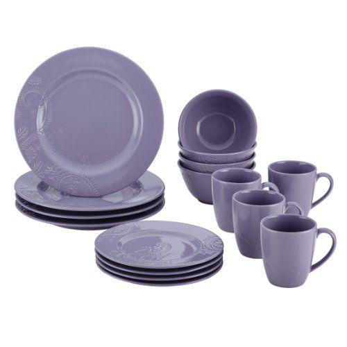 BonJour Paisley Vine 16-Piece Stoneware Dinnerware Set, Lavender BonJour http://www.amazon.com/dp/B00JBCGAN4/ref=cm_sw_r_pi_dp_8GiVub17S358D