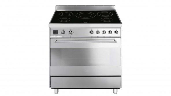 Smeg 90cm Classic Professional Induction Freestanding Cooker CE9IMXA  $5990