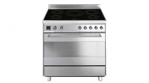 Freestanding Induction Cooker: Smeg 90cm Classic Professional Induction Freestanding