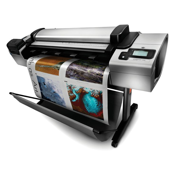 HP Designjet T2300 e-mfp Plotter thermal inkjet technology