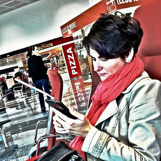 Вылетаем в Нью-Йорк, в общем-то.  #malpensa #milan