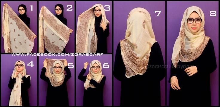 How To Hijab #1 - Zorascarf