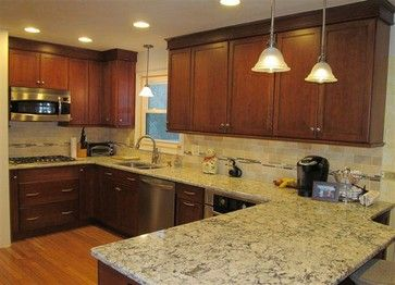 Diamond Cabinets with Cambria Praa Sands contemporary kitchen