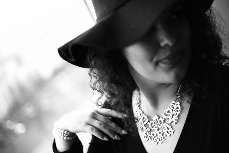 #classy #elegant #blackandwhite #photography #hat #pearl