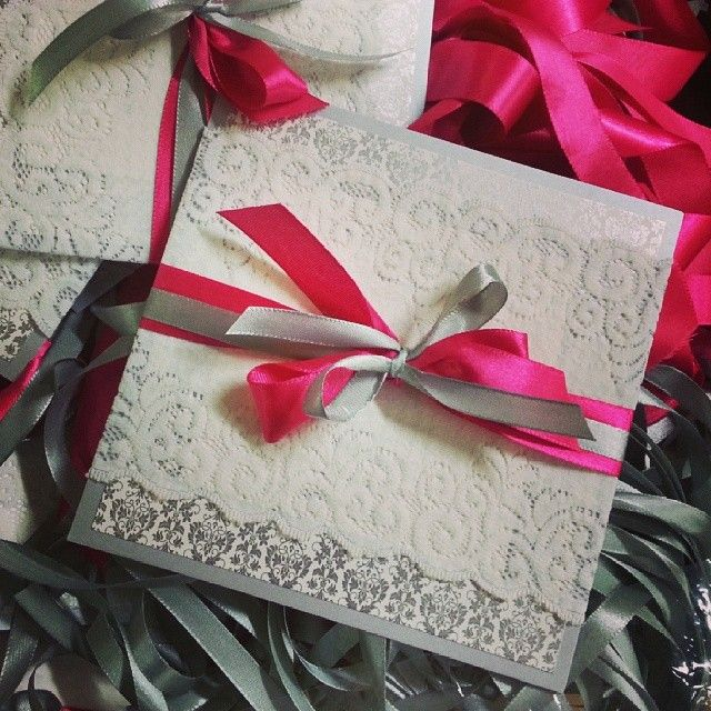 lace invite for indian wedding