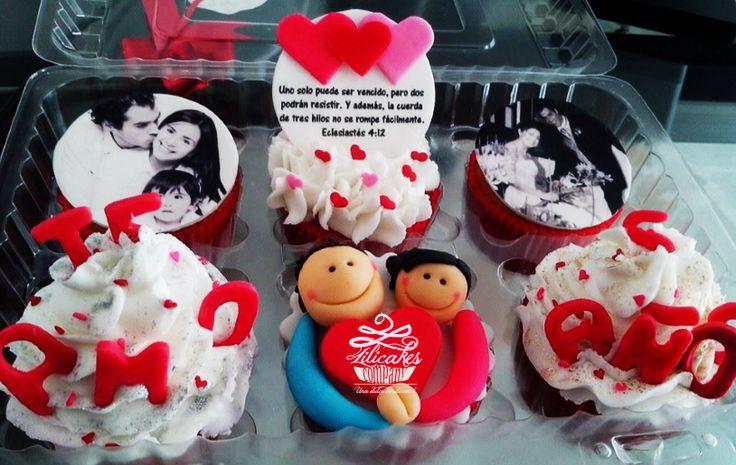 Aniversary Cupcakes Love cupcakes