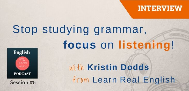 Intoday's episode I'm talking to one of the founders and teachers of Learn Real English - Kristin Dodds. Kristin has more…