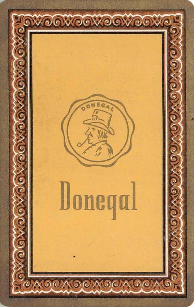 Donegal Ace Of Spades Single Swap Playing Card Congress 606 With