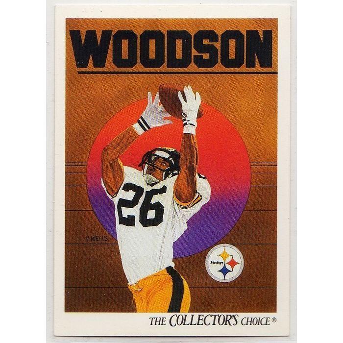1991 PITTSBURGH STEELERS' ROD WOODSON UPPER DECK NFL TRADING CARD #98. Buy it on eBid Canada | 151874203
