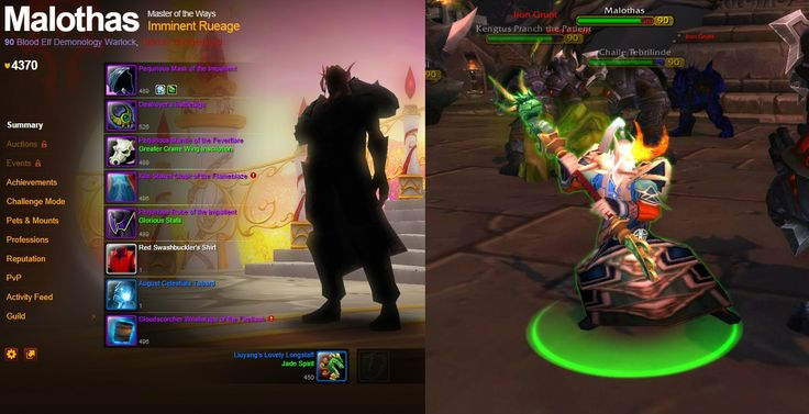 All of the Warlords of Draenor starting quest NPCs are real toons http://wtbgold.blogspot.com/2014/09/is-your-toon-warlords-of-draenor-npc.html
