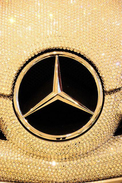 ~Mercedez Benz SLK in Swarovski Crystal   The House of Beccaria#