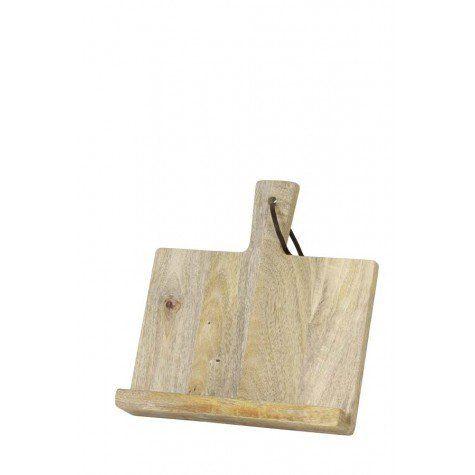 Tablet houder 26,5x27x26,5 cm TABLET bois - Light & Living