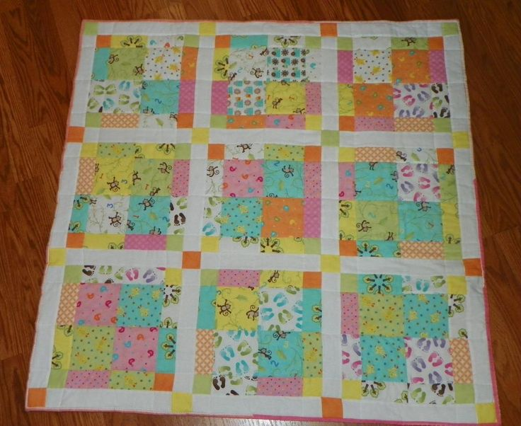 I'm a big fan of disappearing nine patch quilts. Can't wait to get ... : 9 patch baby quilt pattern - Adamdwight.com