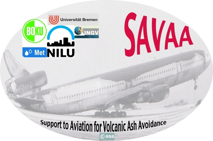 ESA funded SAVAA project - Support to Aviation for Volcanic Ash Avoidance