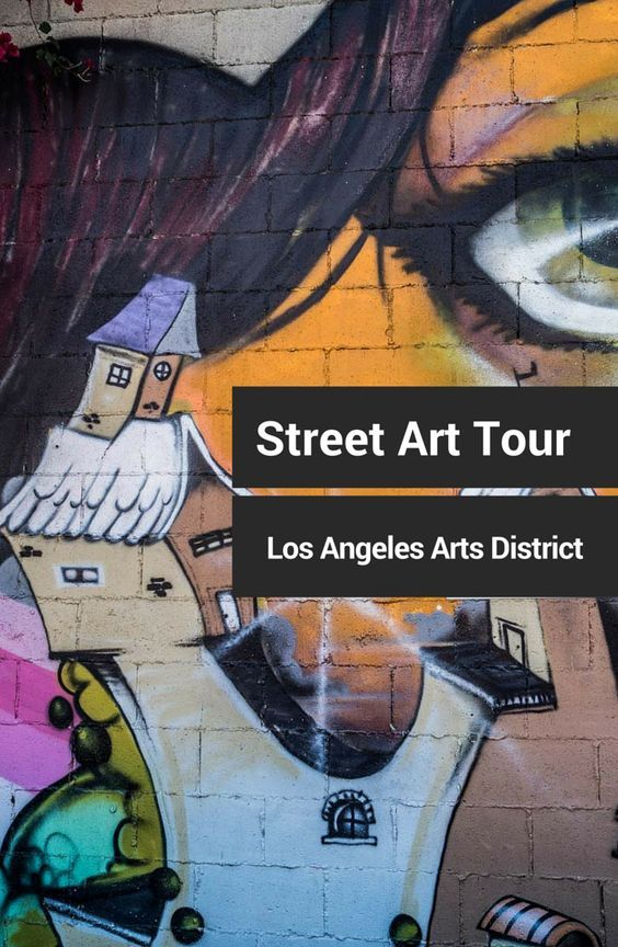To see great Los Angeles street art, take the downtown Arts District walking tour. This compact stroll is loaded with primo murals.