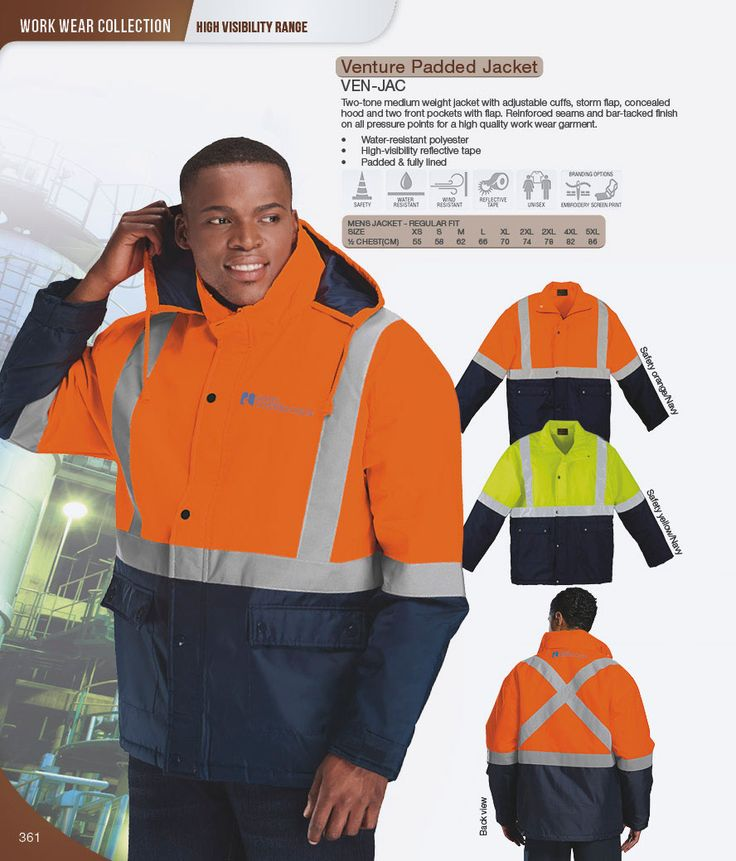 Padded Safety Jackets.#reflective #paddedjacket