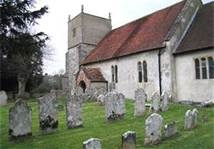 Andover, Hampshire, England St. Mary's Church Yard, where my father is buried.