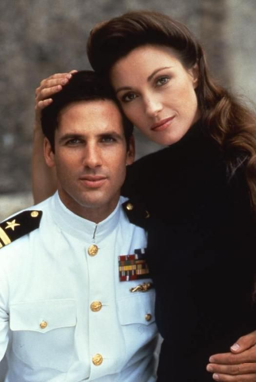 Hart Bochner and Jane Seymour, War and Remembrance