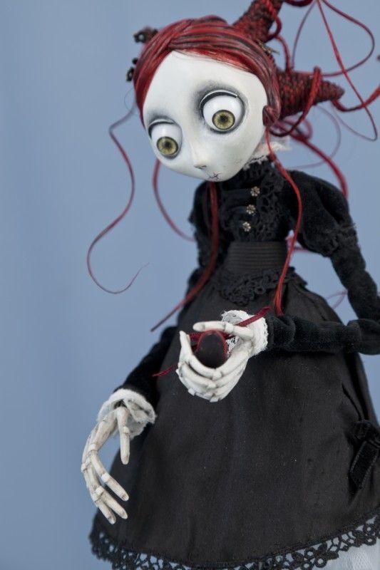 Sculpture, statue, maquette, Designer toy Christine Polis