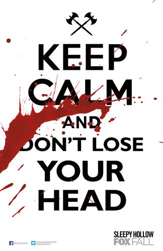 Heads will roll when Sleepy Hollow premieres MON 9/16 at 9/8c.