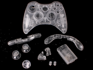 Best 22 xbox 360 custom diy kits ideas on pinterest arts and crystal clear controller kit solutioingenieria Image collections