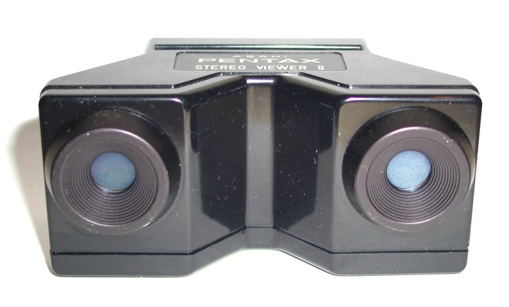 This was used to view 3D slides from adapter