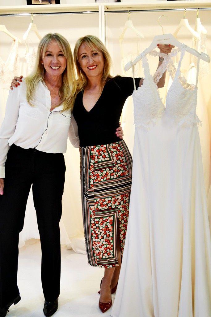 Caroline Castigliano and Freya Rose with the Freya dress www.freyarose.com