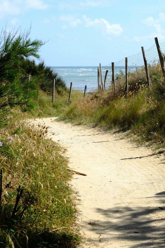 Going to the beach - Île de Ré - saint clément les baleines
