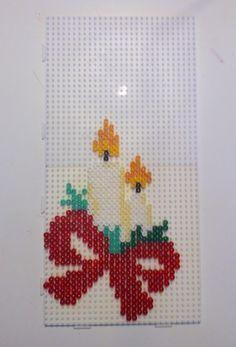 Christmas light hama beads by Randi Frederiksen