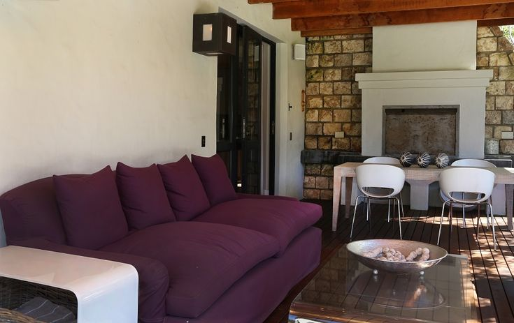 Arc Street: Deck and braai area/ Fireplace. FIREFLYvillas, Hermanus, 7200 @fireflyvillas ,bookings@fireflyvillas.com,  #ArcHouse  #FIREFLYvillas #HermanusAccommodation