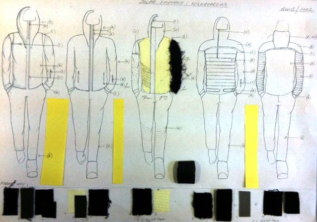 Fashion Sketchbook - sportswear fashion design development with fashion drawings & fabric swatches; fashion portfolio // Annette Mazinyi