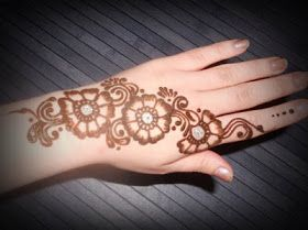 25 best bail mehndi designs images on pinterest hennas henna 5 simple mehendi designs that we love fullonwedding thecheapjerseys Image collections