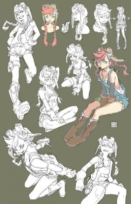 66  Ideas Drawing People Character Design Female Characters