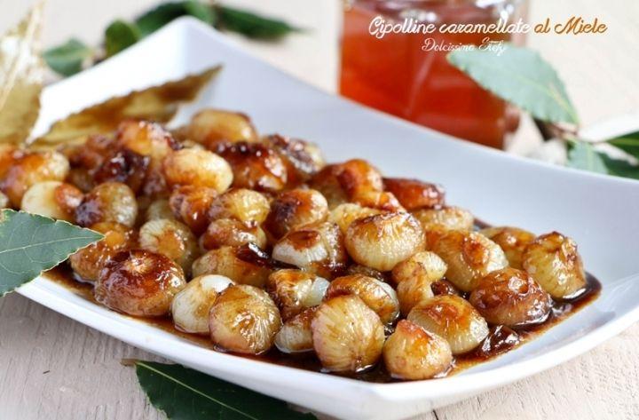 Cipolline caramellate al Miele