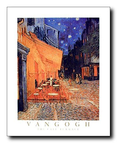 Experience the beautiful café Terrace at night with this Vincent Van Gogh the cafe terrace at night art print poster. It would surely enhance the visual appeal of your place. Hurry up! Buy this wonderful piece of art for its durable quality with high degree of color accuracy which ensures protect your image for years to come.