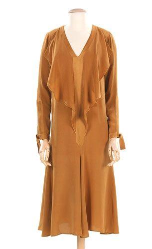 Jean Patou - Silk day dress, 1927.