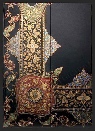 Записная книжка Paperblanks Узор в стиле пэйсли и чёрное дерево (Visions of Paisley Ebony)