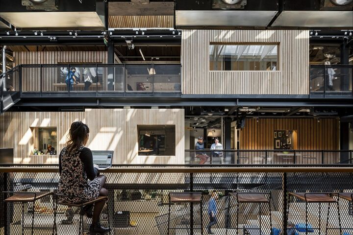 Airbnb Office by Heneghan Peng Architects and Airbnb Environments Team, Dublin – Ireland