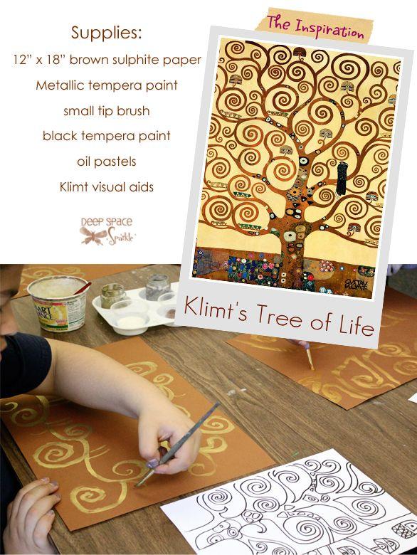 Gustave-Klimt-Tree-of-Life