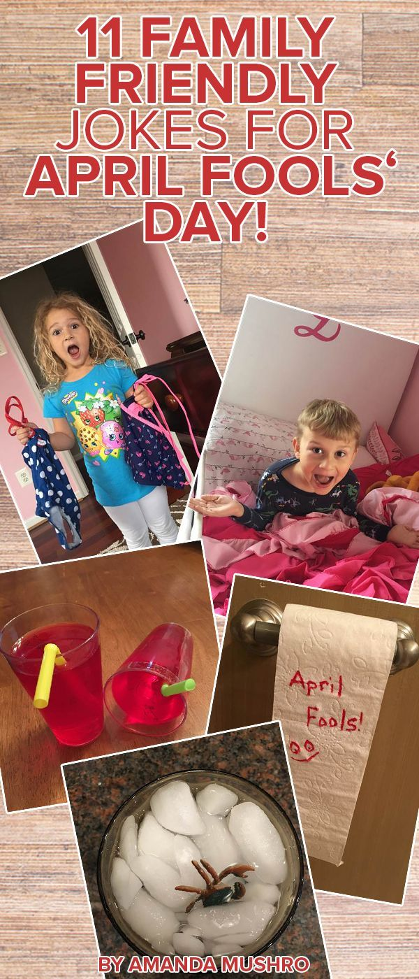 Try these April Fools prank ideas for kids. They will have the whole family laughing.