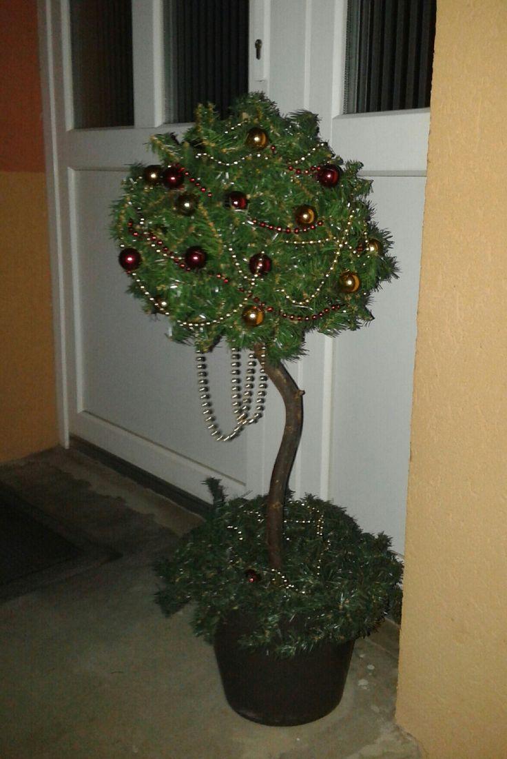 Karácsonyi kültéri dekoráció!