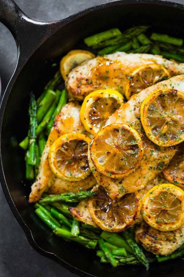 25 Five-Ingredient Dinners to Make All Summer via @PureWow