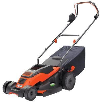BLACK+DECKER 17 in. Walk-Behind Corded Electric Mower $169.00 #BestPrice