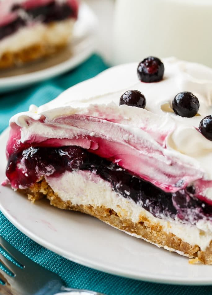 Blueberry Delight is so creamy and easy to make.