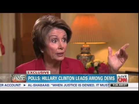 "Pelosi:  Hillary Clinton is ""Certainly more prepared"" to be President than Obama was.......(just name one accomplishment of Hillary Clinton's...hmmmmm)"