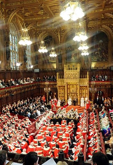 House of Lords, Parliament, London