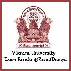 Vikram University Result 2017, after official declaration students check your vikram university BA/BSC/BCOM Results 2nd, 4th, 6th sem at www.vikramuniv.net.